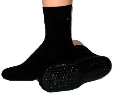 Damen Herren ABS Socken Schuhe schwarz – Bild 2