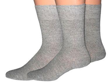 Herren 100% Baumwoll Socken 3er Pack – Bild 2