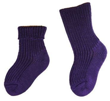 Baby Kinder Öko Socken 1:1 Rippe – Bild 7