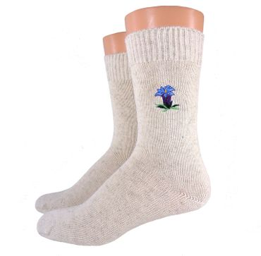 Damen/ Herren Bio Socken bestickt – Bild 4