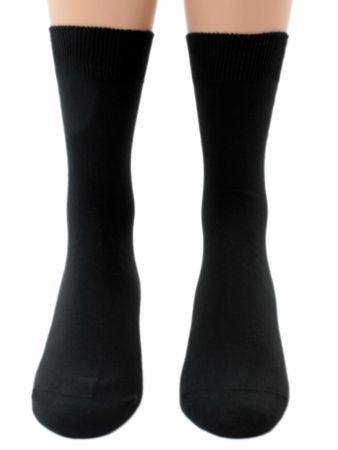 Arztsocken schwarz 100% Baumwolle Fünferpack – Bild 1