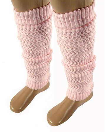 Baby Kinder Stulpen Legwarmer 40cm rosa – Bild 2
