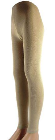Kinder Legging mit Bambus unifarben – Bild 1