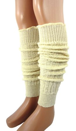 Kinder Damen Stulpen Leg Warmers 55 cm Wolle – Bild 2