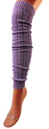 Damen Stulpen Legwarmer XXL Wolle – Bild 2