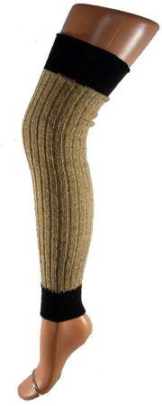 Damenstulpe Legwarmer zweifarbig ca. 80 cm – Bild 2