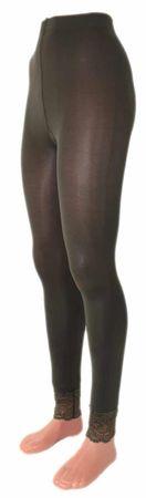 Damen Leggings Microfaser 70 DEN lang mit Spitze – Bild 17