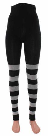 Ringel-Leggings Bio Baumwolle – Bild 1