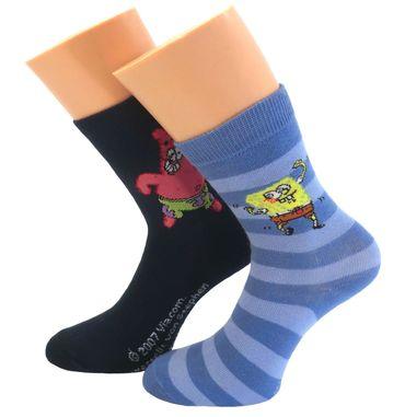 Kinder Socken Doppelpack Motiv Sponge Bob – Bild 2