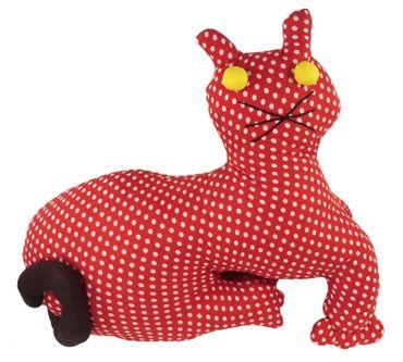 Stofftier Nackenkissen Kinderzimmerdeko Katze