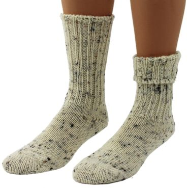 Damen Herren Wollsocken Schafwolle Tweed Gr.35/36 - 51/52 – Bild 2