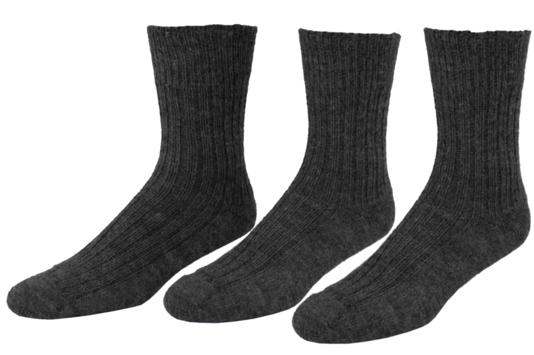 Damen Herren Socken Wolle Seide