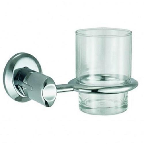 Designschöner Glashalter | Zahnbürstenhalter |