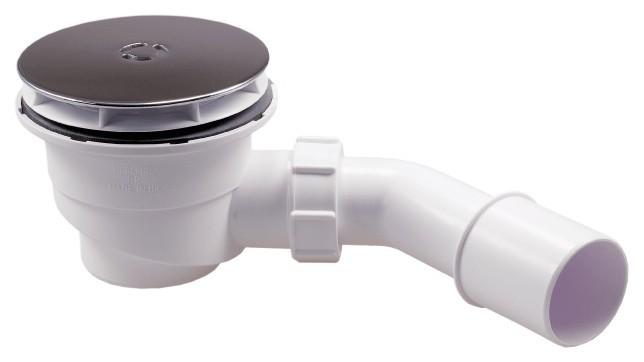 Abflussgarnitur | Messing | 90er Ablaufbohrungen Bild 2
