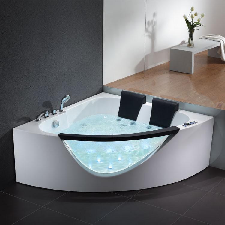 Sehr Whirlpool Badewanne Eckeinbau Freistehend raumspar Whirlpoolwanne AX97