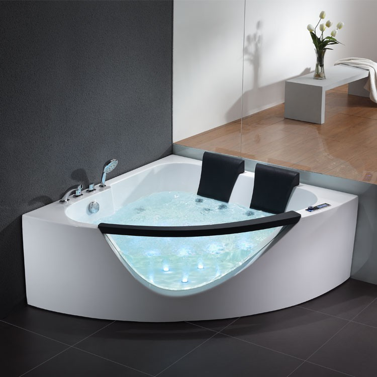 whirlpool badewanne eckbadewanne wanne whirlpoolwanne. Black Bedroom Furniture Sets. Home Design Ideas