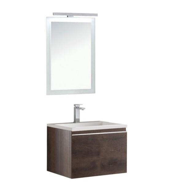 Badmöbel | Badezimmermöbel-Set Spiegel-LED Bild 4