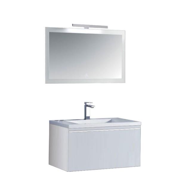 Badmöbel | Badezimmermöbel-Set Spiegel-LED Bild 3