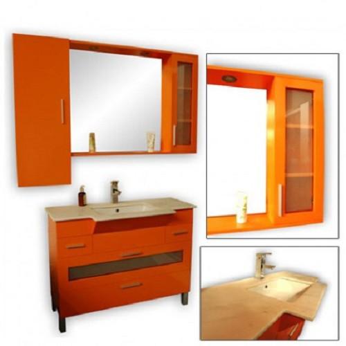 Badmöbelset Waschbecken Badezimmermöbel Spiegel  letzte Artikel Sonderangebot