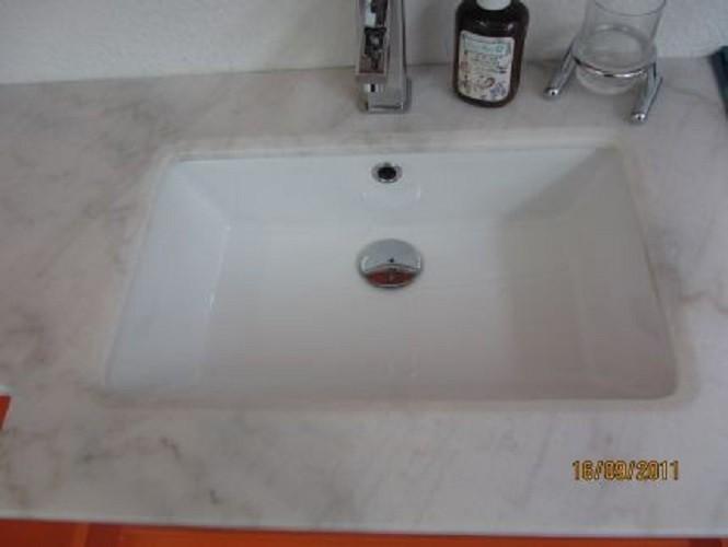 Badmöbelset Waschbecken Badezimmermöbel Spiegel unterschrank % Restposten Bild 7