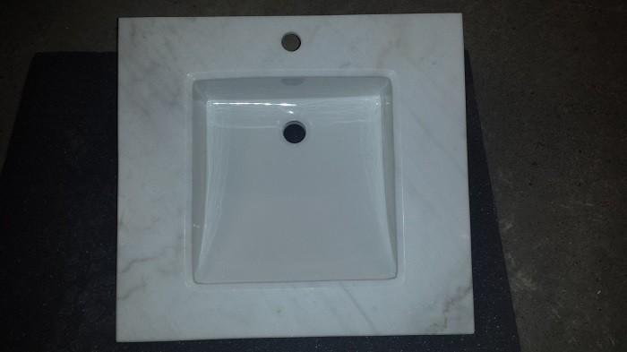 Badmöbelset Waschbecken Badezimmermöbel Spiegel letzte Artikel Sonderangebot massivholz  Bild 6