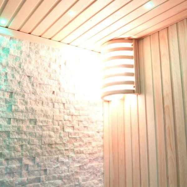 Sauna | Pappelholz | 3kW EOS BiO-Mini | 180x105 cm Bild 8