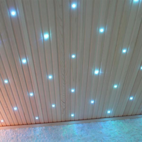 Sauna | Pappelholz | 9kW EOS BiO-MAX | 220x180 cm Bild 6