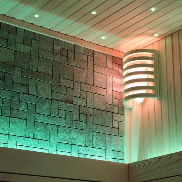 Sauna | Pappelholz | 9kW EOS BiO-Thermat | 200x120 cm Bild 3