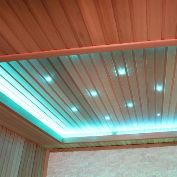 Sauna | rote Zeder | 9kW EOS BiO-Thermat | 220x170 cm Bild 3