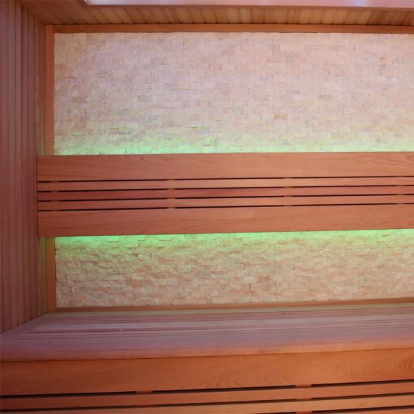 Sauna | rote Zeder | 9kW EOS BiO-Thermat | 220x170 cm Bild 4