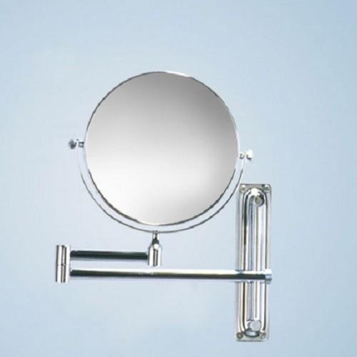 Spiegel Kosmetikspiegel  Badezimmerspiegel  5-fache Vergrößerung 3-fache Vergrößerung Edler Kosmetikspiegel 21,9 x 22,7 cm | 3-fache Vergrößerung
