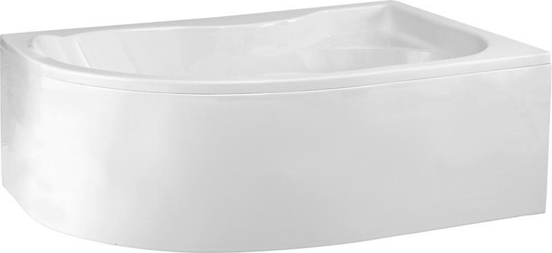 Badewanne | Wannen 170 x 110 cm | Rechts inkl. Wannenfuß und Ablaufgarnitur