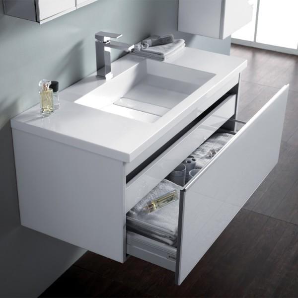 Badmöbel | Badezimmermöbel-Set Spiegelschrank-LED Bild 9
