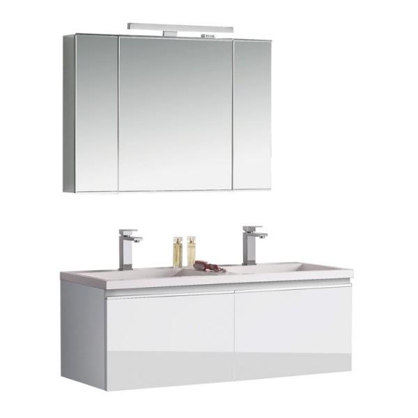 Badmöbel | Badezimmermöbel-Set Spiegelschrank-LED Bild 3