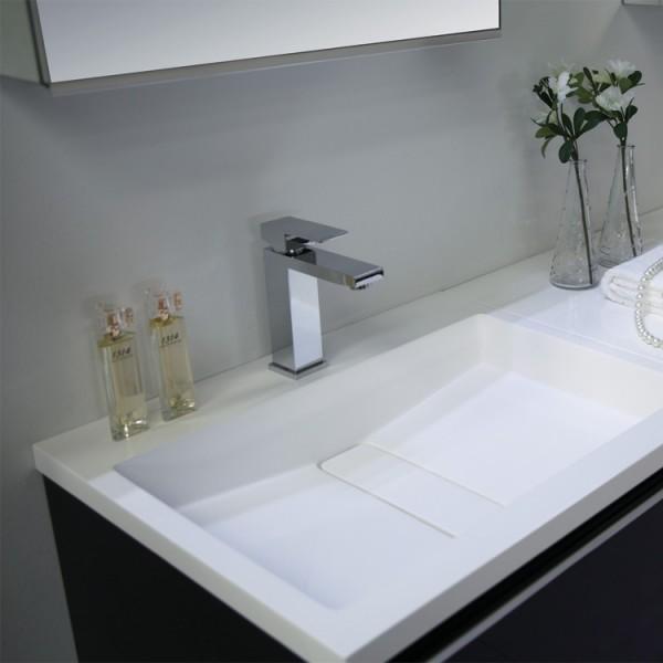 Badmöbel | Badezimmermöbel-Set Spiegelschrank-LED Bild 7