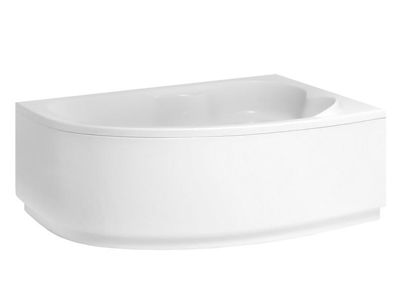 Badewanne | Wannen 140 x 80 cm Rechts  inkl. Wannenfuß und Ablaufgarnitur Bild 2