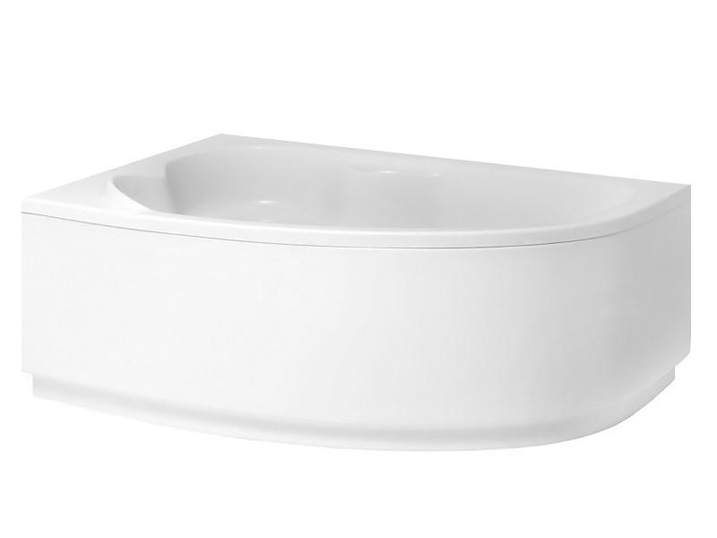 Badewanne | Wannen 140 x 90 cm Links  inkl. Wannenfuß und Ablaufgarnitur Bild 3