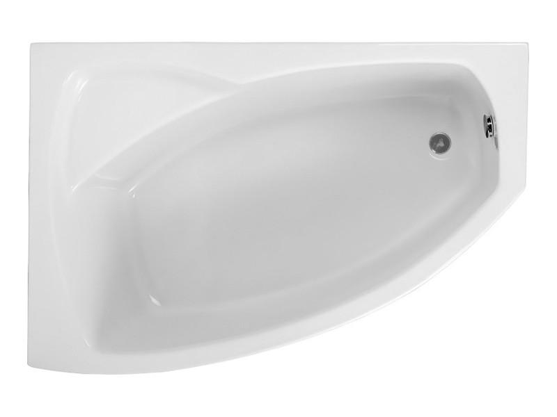 Badewanne | Wannen 140 x 80 cm Links  inkl. Wannenfuß und Ablaufgarnitur Bild 4
