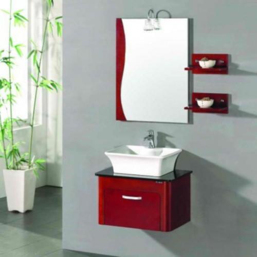 Badmöbelset Waschbecken Badezimmermöbel Spiegel Restposten massivholz einmalig in hellblau