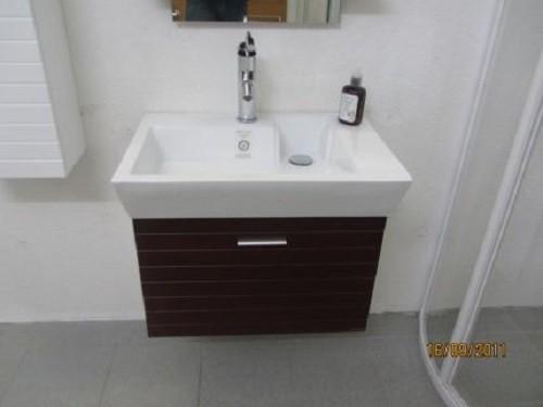 Badmöbelset Waschbecken Badezimmermöbel Spiegel unterschrank Restposten Bild 7