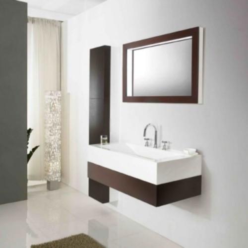 Badmöbelset Waschbecken Badezimmermöbel letzte Artikel Sonderangebot inkl. 2xSeitenschrank