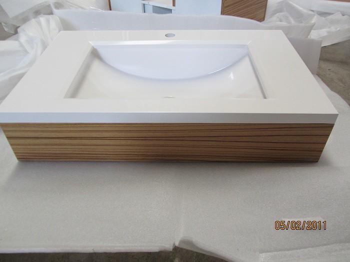 Badmöbelset Waschbecken Badezimmermöbel Spiegel unterschrank Restposten Bild 6