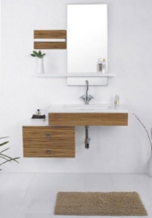Badmöbelset Waschbecken Badezimmermöbel Spiegel unterschrank ...