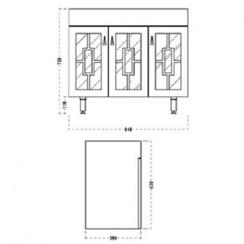 Badmöbelset Waschbecken Badezimmermöbel Spiegel unterschrank massivholz 2 wahl Bild 7