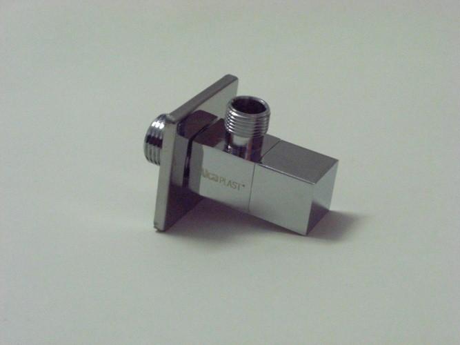 "Modernes Eckventil mit Filter 1/2"" x 3/8"" (Rechteckig)"