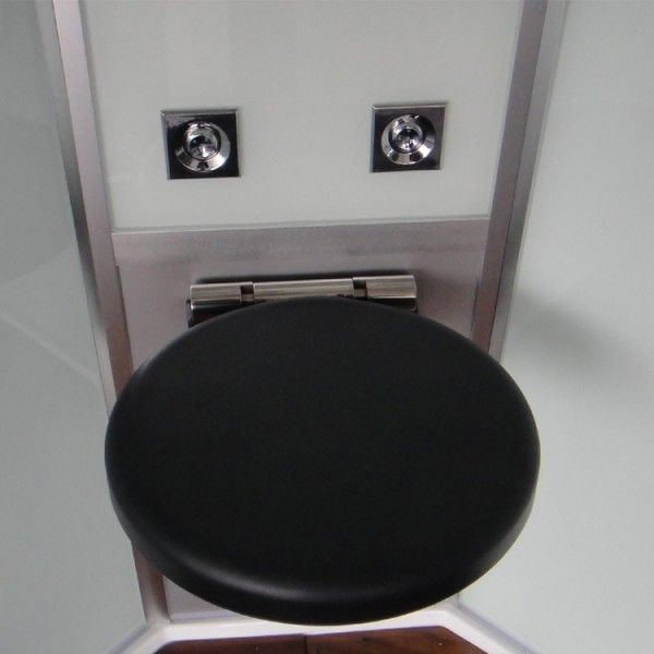 Duschkabine/Dampfdusche | schwarz | Ausführung rechts Bild 6