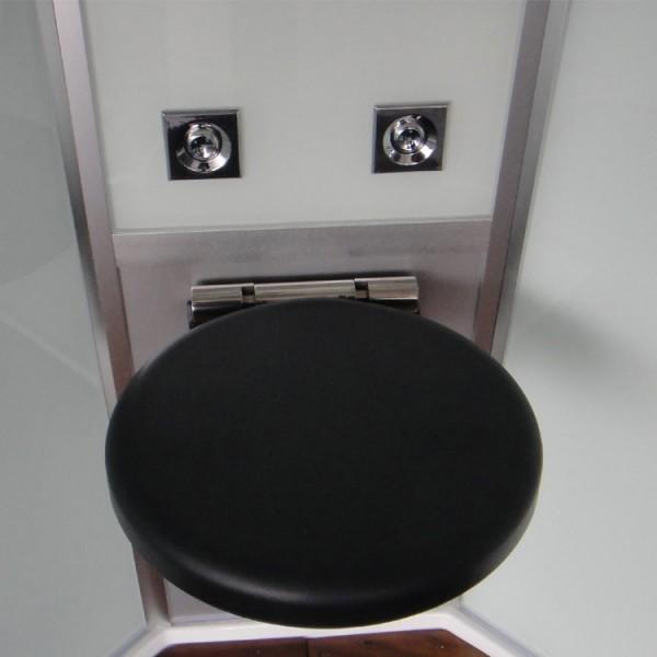 Duschkabine/Dampfdusche | weiß | Ausführung links Bild 6