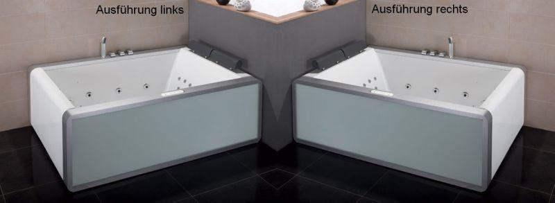Whirlpool badewanne für 2 personen  Komfortabler Whirlpool | Badewanne für 2 Personen Whirlpools EAGO ...