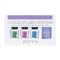Zoya Mini Color Lock Set (BaseCoat+TopCoat+FastDrops+Remove+)