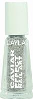 Layla Nagellack Caviar Effect #1